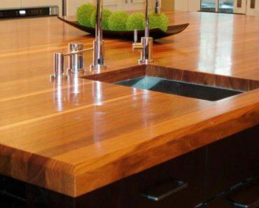 кухонные столешницы из массива дерева